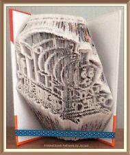 TRENO giocattolo. piegato LIBRO ARTE pieghevole PATTERN ONLY #3595