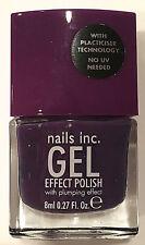 Nails Inc Gel Effect Bond Street Purple New Bottle 346