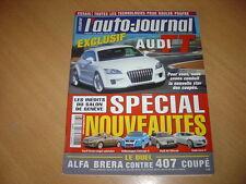 AJ N°693 BMW Z4 M.Meriva OPC.Audi Q7 3.0 TDi.Brera 2.2 JTS / 407 Coupé 2.2 16V
