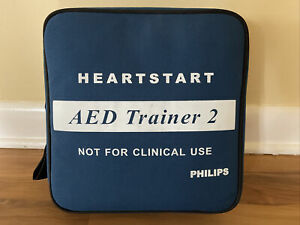 Philips (M3752A) Heartstart AED Defibrillator Trainer 2 Unit -- Great Condition