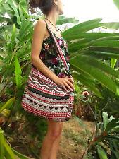 Large Surfer Shoulder Sac Handbag Weekend Bag Boho Hippie Festival Tribal Aztec