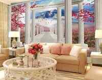 3D hill View tree 1247 Paper Wall Print Decal Wall Wall Murals AJ WALLPAPER GB