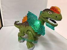 Electric Dinosaur Roar Flashing Lights Battery Operated