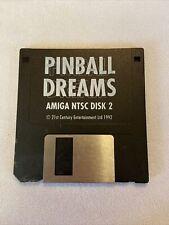Vintage Amiga 3.5 Hard Disk #2 Pinball Dreams
