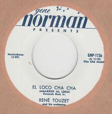 R&B REPRO: RENE TOUZET - EL LOCO CHA CHA / CHUCK BERRY- HAVANA MOON -GENE NORMAN