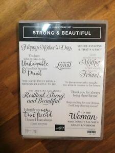 Stampin up Strong & Beautiful stamp set
