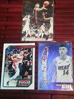 NBA Tyler Herro Rookie Card LOT 3 Herro cards, 2 Kendrick Nunn rookie MIAMI HEAT