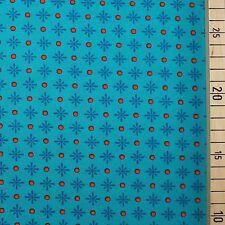 "Bio Jersey ""Azul Daisy"" Flores lillestoff"