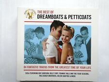 The Best Of Dreamboats & Petticoats - 84 fantastic tracks.  CD  VG