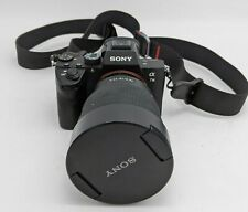 Good Sony α7 III Mirrorless Camera 24.2MP w/ FE 12-24mm F4 G Wide Lens -SB2772