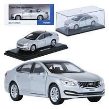 TreForze 1:38 Aslan Silver Display Mini Car Miniature Car