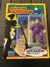 Vintage Dick Tracy The Rodent On Lips Manlis' Card Factory Error Playmates 1990
