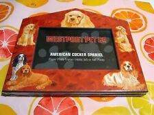 Maple Lane Press New Paperboard Dog House Picture Frames American Cocker Spaniel
