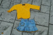 THE CHILDRENS PLACE ~ Toddler Girl 2 piece Outfit ~ Size 18 months ~ Skirt