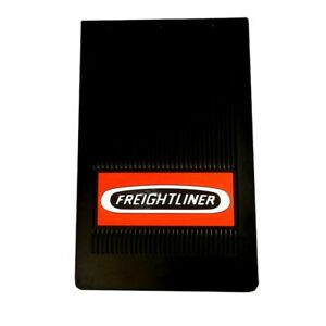 "Freightliner Trucks 10"" x 15"" x 1/4"" OEM Black Rubber Semi Truck Mud Flaps-Pair"