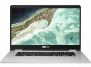 Asus C523NA-BR0067 Intel Celeron, 4GB RAM, 64GB, 15.6 inch HD Chromebook -Silver