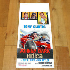 BOLIDE ROSSO locandina poster affiche  Johnny Dark Tony Curtis Car Race V48