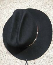 HALLOWEEN Wanna be Cowboy Black Western Express, inc Men's Black Hat