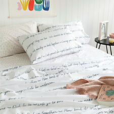 NEW Let's Go To Bed flat sheet Women's by more than ever