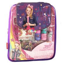 Girls Jojo Siwa Cosmetics & Tote Bag Set Nail Polish Lip Gloss Balm