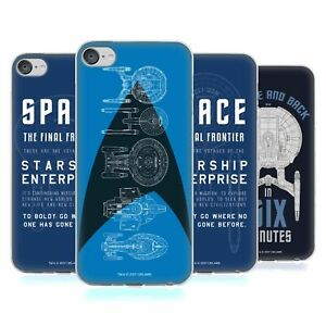 OFFICIAL STAR TREK SHIPS OF THE LINE GEL CASE FOR APPLE iPOD TOUCH MP3