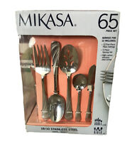 Mikasa 65 Piece Stainless Steel Flatware Set