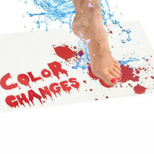 Horrible Floor Mat Color-Changing Floor Mat Bathroom Halloween Floor Mat