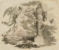 CHODOWIECKI (1726-1801). Die Zeit enthüllt die Wahrheit; Druckgraphik 1