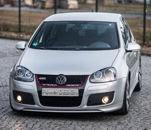 Spoiler anteriore sotto paraurti per VW GOLF 5 V GTI EDT30  ABS Plastica