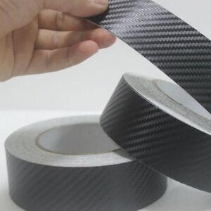 Pellicola adesiva nastro 3D carbonio carbon misura 25mm x 5 metri bici auto car