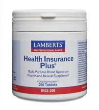Lamberts Health Insurance Plus Tablets (250) BBE 06/2022