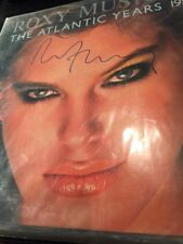 Brian Ferry Hand Signed Roxy Music Autograph LP 1973-1980 Atlantic Years Avalon