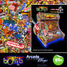 StickerBomb Arcade Machine Wrap Artwork Sticker Retro Game Theme large Sizes