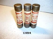 Shawmut OT50 250v 50A One Time Fuse Lot of 3 fuses (1494)