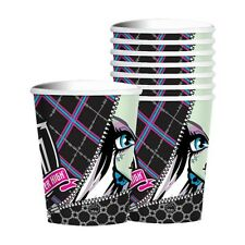 8 Monster High Childrens Birthday Party 9oz Paper Cups