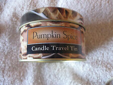 Pumpkin Spice Candle Travel Tin New Full CL3-4