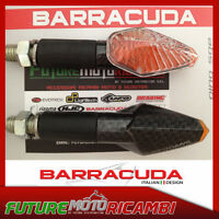BARRACUDA COPPIA FRECCE MINI VIPER GAMBO LUNGO UNIVERSALI CARBON LOOK INDICATORS