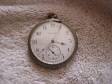Elgin National Watch Co. Philadelphia Watch Case Silverode 7 Jewels