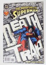 DC Comics The Adventures of Superman Death Trap Comic book Issue No. 517 Vtg '94