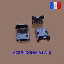 Connecteur de charge Micro USB Dock pour Acer Iconia A3 A10 a Souder   (44A)