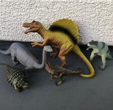 Vintage Schleich Dinosaur Toys Lot Brachiosaurus Raptor Allosaurus Dilophosaurus