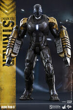 "12"" Item 902312 Iron Man Mark XXV Striker Hot Toys Sideshow Sixth Scale Figure"