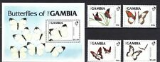 GAMBIA. BUTTERFLIES OF GAMBIA 1984 MNH