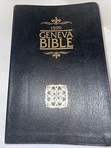 1599 Geneva Bible Genuine Black Leather Edition Tolle Lege Press 2006