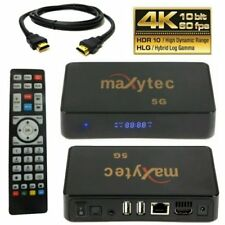 Maxytec 5G IPTV Android/Linux Media Player, H.265 30 fps WIFI Stalker Kodi HDMI