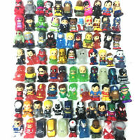 Lot 10Pcs Ooshies DC Comics Marvel Pencil Topper Figure baby boy girl toy dolls