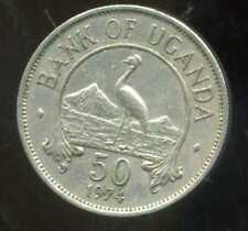 OUGANDA  50 cents 1974