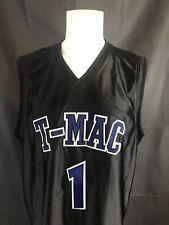 Vintage Adidas T-Mac Tracy McGrady Black Sewn Promo Basketball Jersey Sz XL