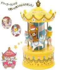 San-X Rilakkuma 10th Anniversary Accessory Case  Yellow Wonderland  New