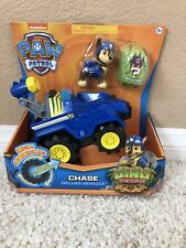 Paw Patrol DINO RESCUE Chase Deluxe Rev Up Vehicle & Figure Nick Jr TRUCK
